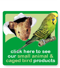 Click to see our small animal & caged bird products