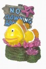 No Fishing Sign ~ Clown Fish